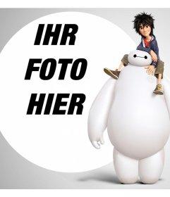 Fügen Sie Ihr Foto kostenlos mit den Charakteren von Big Hero 6 durch den Effekt dieser