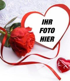 Machen Sie ein schönes Geschenk zu Ihrem Paar mit dieser Liebe Fotoeffekt