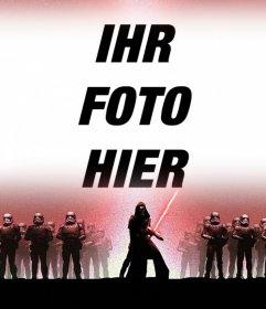Fotoeffekt von Star Wars 7 laden Sie Ihr Foto