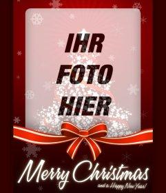 Foto Wirkung Weihnachtskarte für uploadyour Foto