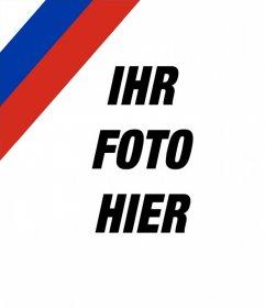 Foto-Effekt die russische Flagge in Ihrem Bild zu setzen