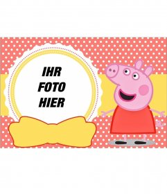 Peppa Pig Collage für todlers