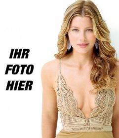 Fotomontage zu deinem Bild neben Jessica Biel setzen