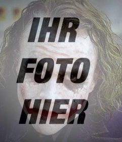 Jokerfilter für Ihr Foto online