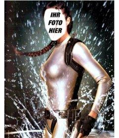 Werden Sie in der Abenteurer Lara Croft mit diesem Effekt zu bearbeiten