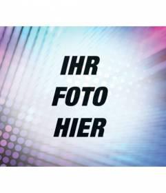 Filtern Fotos, indem Sie eine psychedelische Wirkung mit Türkis und lila Lichter bearbeiten
