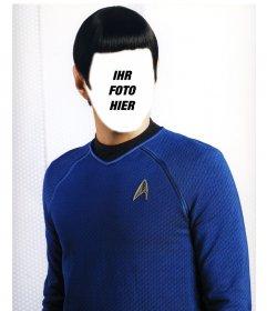 Werden Sie in Spock von Star Trek mit dieser Fotomontage Online-