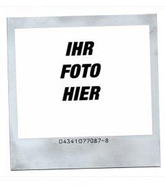 Rahmen für Fotos im Polaroidstil