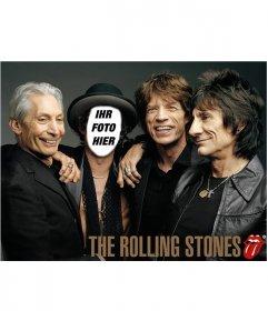 Fotomontage der Rolling Stones mit Ihrem Foto