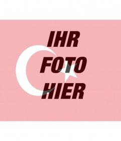 Turkey Flag Bilder zum Einfügen in Ihr Foto