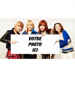 Photomontage avec le groupe 2NE1