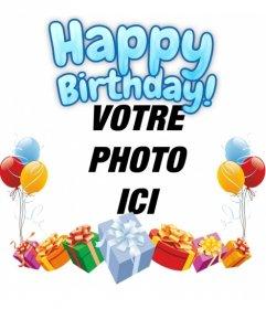Cartes Virtuelles Joyeux Anniversaire Photoeffets