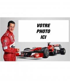 Michael Schumacher photomontage