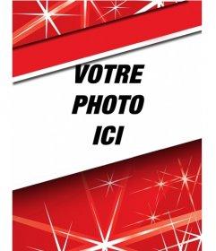 Sélectionnez votre photo de profil ce Noël avec ce cadre
