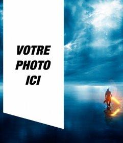 Effet de photo pour faire votre photo à côté de Jedi Knight