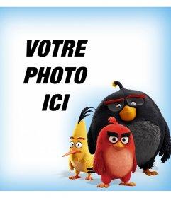 Les personnages de Angry Birds qui vous accompagnent dans vos photos avec cet effet