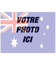Drapeau australien à mettre sur votre photo en ligne