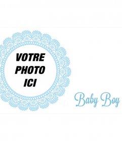 Marco postal pour féliciter la naissance dun enfant