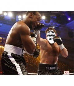 Photomontage où vous pouvez devenir un boxeur en ligne