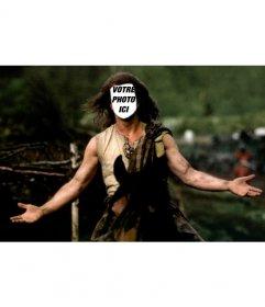 Photomontage Bravehearth, mettre votre photo sur le caractère de Mel Gibson de ce film célèbre