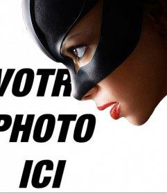 Catwoman photomontage de mettre une photo à côté de lui