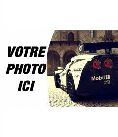 Composition avec Corvette Racing aux côtés de votre image