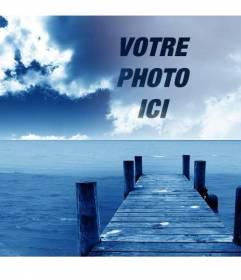 Photomontage pour créer des collages avec votre photo et fond de ciel