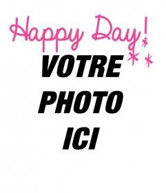 Des photomontages pour dire bonjour avec votre photo