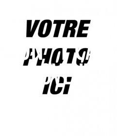 """Créer des collages avec le texte de la chanson """"I do not care, I love it"""" et avec la photo de fond vous téléchargez en ligne"""
