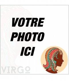 Mettez votre photo de profil avec votre symbole de zodiaque; Vierge