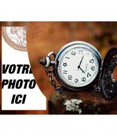 Créez un collage de style vintage avec une montre de poche
