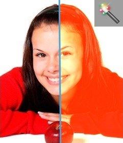 """Passez votre photo sépia avec cet effet photo, donnant à l""""image une teinte nostalgique, comme d""""une autre époque"""