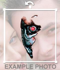 Autocollant Terminator pour vos photos