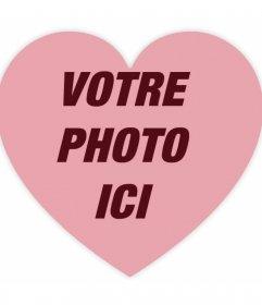 Filtre à mettre un cœur transparent sur vos photos