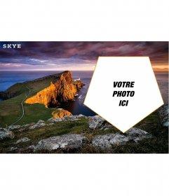 Carte postale personnalisable avec une photo de lîle de Skye