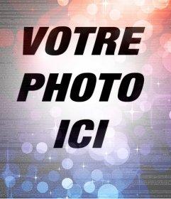 Ajouter un filtre abstrait avec des lumières à vos photos gratuitement