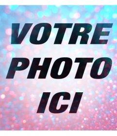 Filtre original pour vos photos avec des couleurs vives