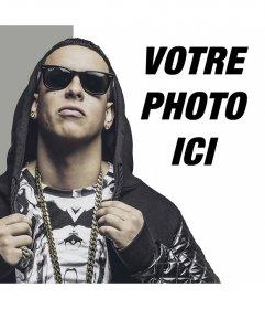 Effet photo pour mettre votre photo à côté de Daddy Yankee pour