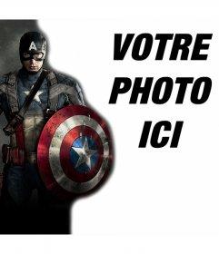 Téléchargez votre image avec le héros Captain America et gratuitement