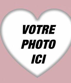 Un filtre de coeur parfait pour votre photo de profil