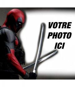 Deadpool dans vos photos avec cet effet de photo libre de modifier