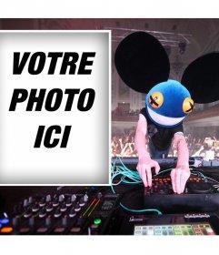Téléchargez votre photo si vous aimez le célèbre DJ Deadmau5 et libre