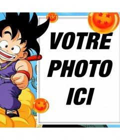 Photomontages et cadres avec Son Goku