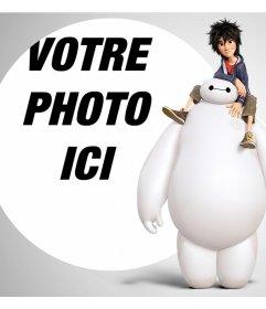 Ajoutez votre photo gratuitement avec les personnages de Big Hero 6 avec effet éditable cet effet de votre photo et dêtre avec Baymax et Hiro Hamada du film danimation Disney Big Hero 6. Cet effet est gratuit et parfait pour les fans de ce film