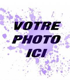 Tache bleue dans vos photos pour ajouter