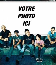 Couverture de lalbum de Simple Plan que vous pouvez modifier avec votre photo effet