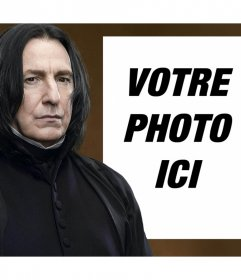 Effet photo avec Rogue de Harry Potter de télécharger une photo