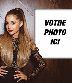 Photomontage avec Ariana Grande pour mettre votre photo