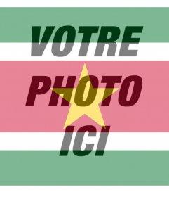 Suriname filtre à mettre sur vos photos pour Flag
