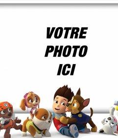 Téléchargez votre photo avec tous les personnages de Paw Patrol